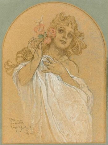 Allegory of Spring | Alfons Mucha | Oil Painting