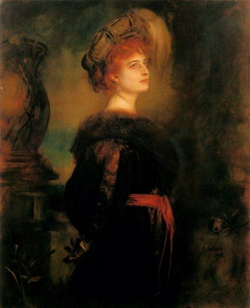 Lily Merk | Franz von Lenbach | Oil Painting