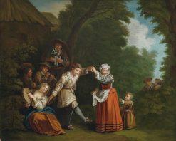 The Peasant Dance | Jean Baptiste Le Prince | Oil Painting