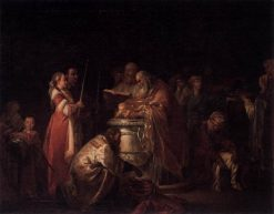 The Russian Baptism | Jean Baptiste Le Prince | Oil Painting