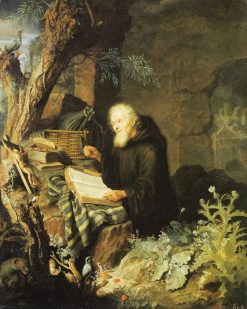 A Hermit | Pieter Leermans | Oil Painting