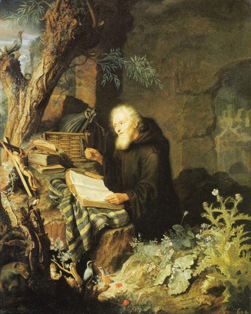 A Hermit | Pieter Leermans | Oil Painting