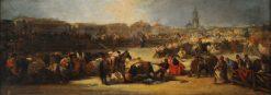 Corrida | Eugenio Lucas Velazquez | Oil Painting