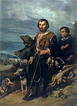 The Hunter | Eugenio Lucas Velazquez | Oil Painting