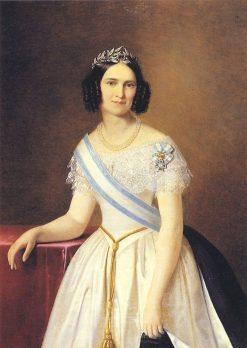 Princess Adelgunde of Bavaria | Adeodato Malatesta | Oil Painting