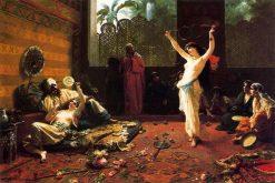 An Evening of Entertainment | Giacomo Mantegazza | Oil Painting