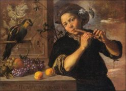 Allegory of Hearing | Miguel March | Oil Painting