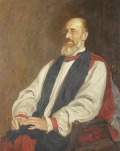 The Right Reverend Mandell Creighton | Hubert von Herkomer | Oil Painting
