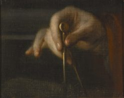 Study of a Hand | George Engelhardt Schroeder | Oil Painting