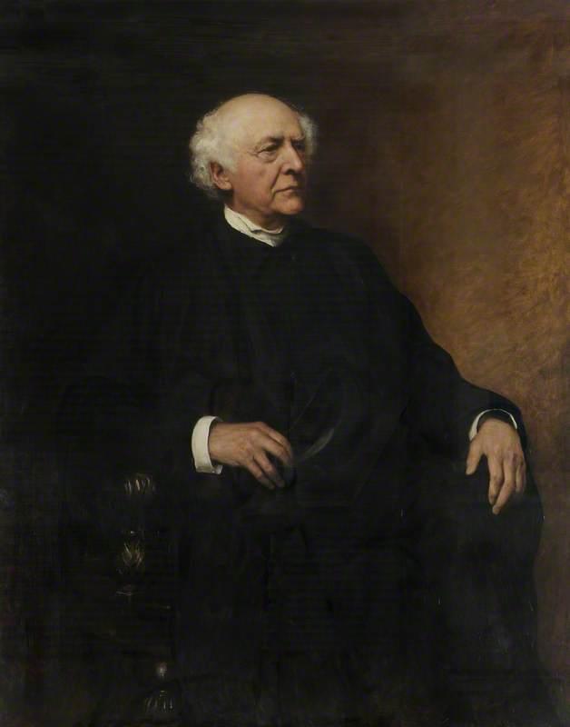 The Very Revd Henry George Lidell | Hubert von Herkomer | Oil Painting