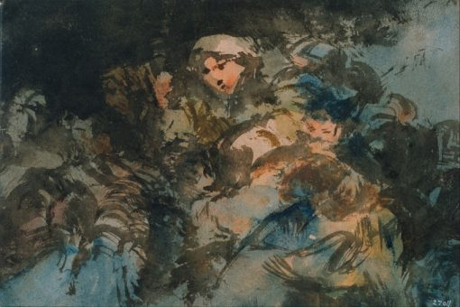 Group of Witches | Eugenio Lucas Velazquez | Oil Painting