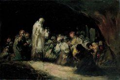 The Communion   Eugenio Lucas Velazquez   Oil Painting