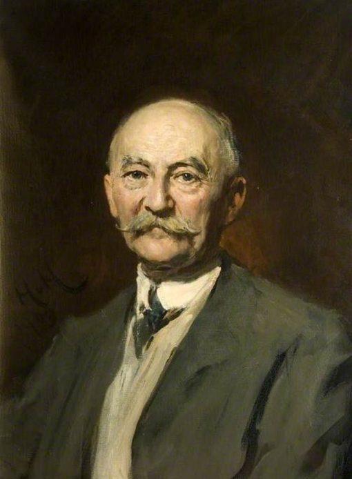 Thomas Hardy   Hubert von Herkomer   Oil Painting