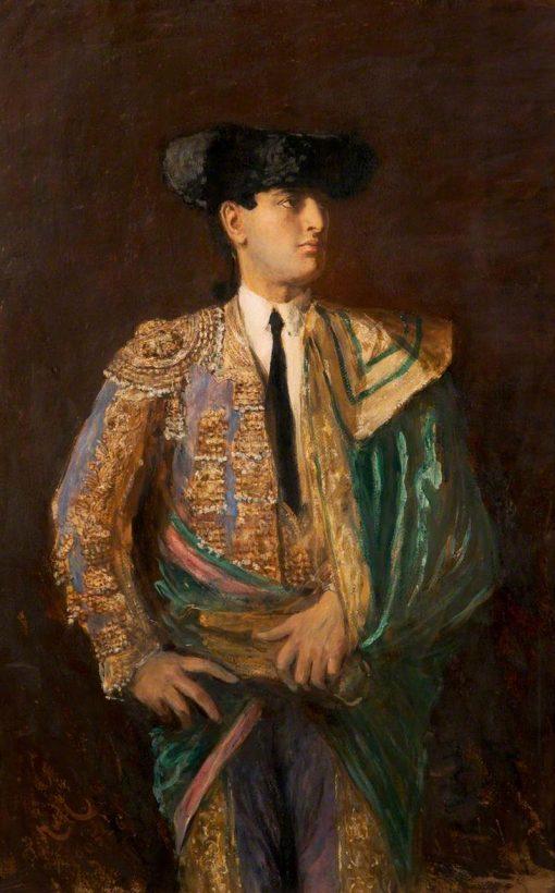 Toreador of Valencia | Hubert von Herkomer | Oil Painting