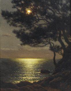 Moonlit Coast | Ivan Fedorovich Choultse | Oil Painting