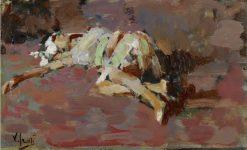 Reclining Figure | Vincenzo Irolli | Oil Painting