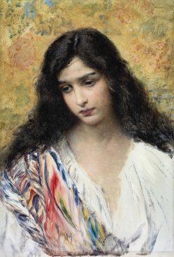 Russian Beauty | Konstantin Yegorovich Makovsky | Oil Painting
