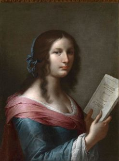 Allegory of Geometry | Giovanni Martinelli | Oil Painting