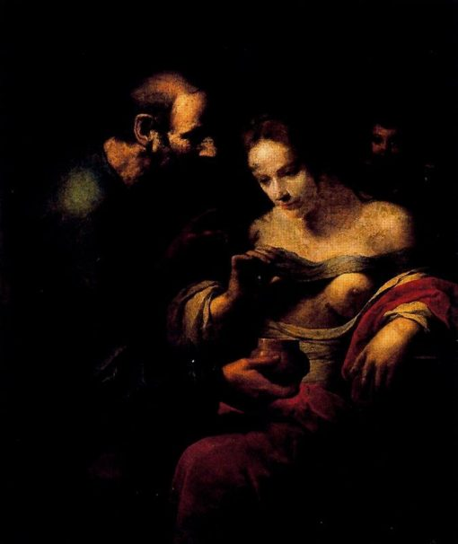 St. Agueda cured by St. Peter in prison | Giovanni Martinelli | Oil Painting