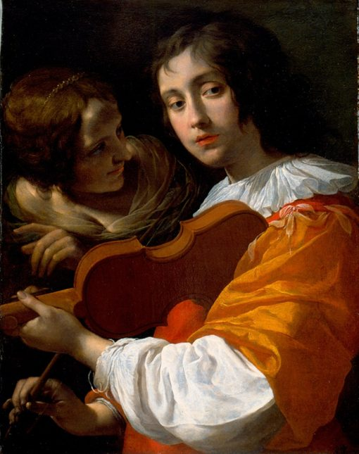 Youth with Violin | Giovanni Martinelli | Oil Painting