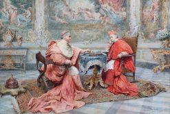 The Winning Move   Maria Martinetti   Oil Painting