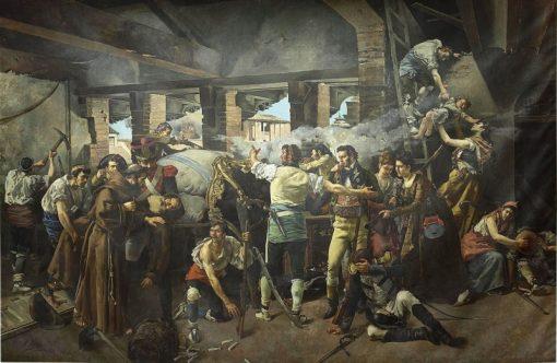 Defense of the Convent of Santa Engracia de Zaragoza