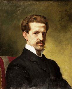 Jacinto Octavio Picón | Nicholas Megia Marquez | Oil Painting