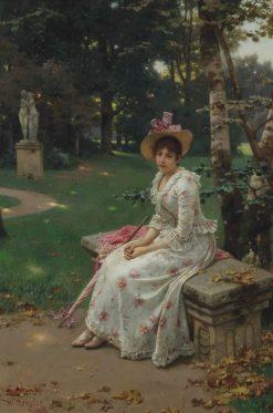 Garden Rememberances | Wilhelm Menzler | Oil Painting
