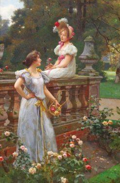In the Garden | Wilhelm Menzler | Oil Painting