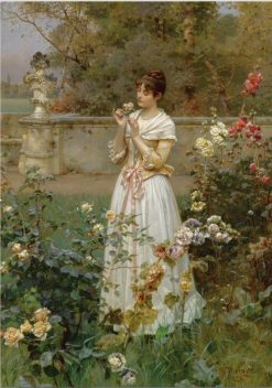 The Rose of All Roses | Wilhelm Menzler | Oil Painting