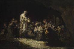 The Communion | Eugenio Lucas Velazquez | Oil Painting