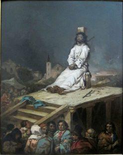 Le garrot | Eugenio Lucas Velazquez | Oil Painting