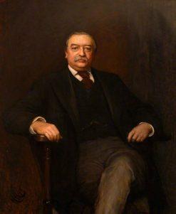 Walter Hayes Burns of North Mymms | Hubert von Herkomer | Oil Painting