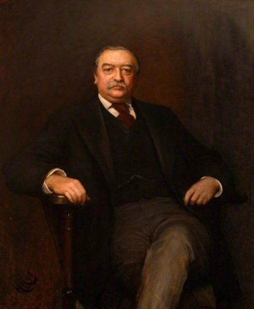 Walter Hayes Burns of North Mymms   Hubert von Herkomer   Oil Painting