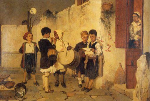 Carols | Nikiphoros Lytras | Oil Painting
