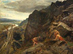 Watching the Invaders | Hubert von Herkomer | Oil Painting