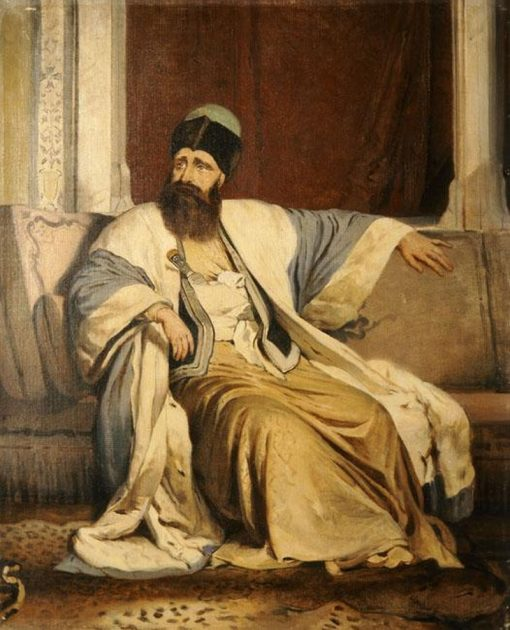Michael Soutzos | Nikiphoros Lytras | Oil Painting