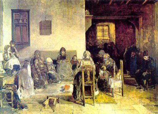 Mourning at Psara | Nikiphoros Lytras | Oil Painting