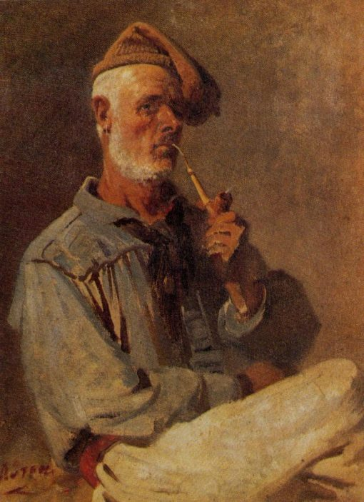 Sailor smoking | Nikiphoros Lytras | Oil Painting