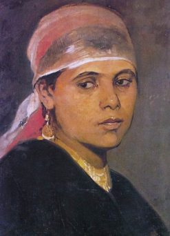 The Fellah Girl | Nikiphoros Lytras | Oil Painting