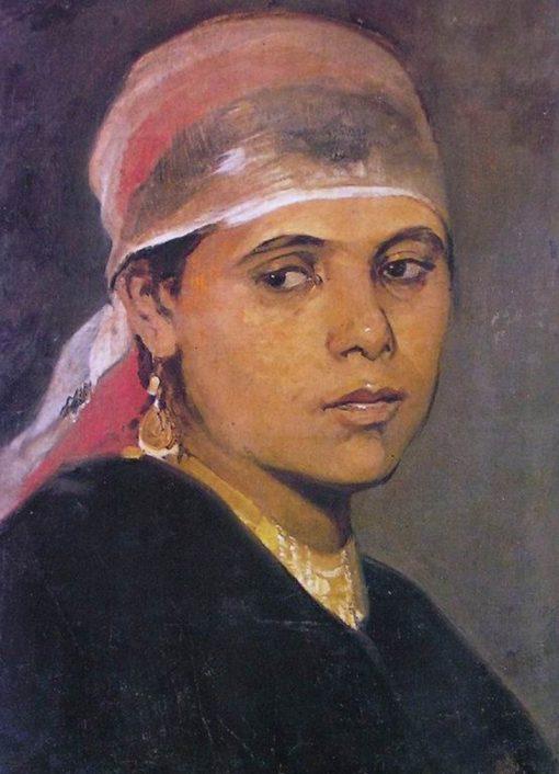 The Fellah Girl | Nikiphoros Lytras | Oil Painting