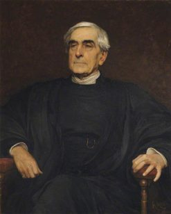 William Hepworth Thompson   Hubert von Herkomer   Oil Painting