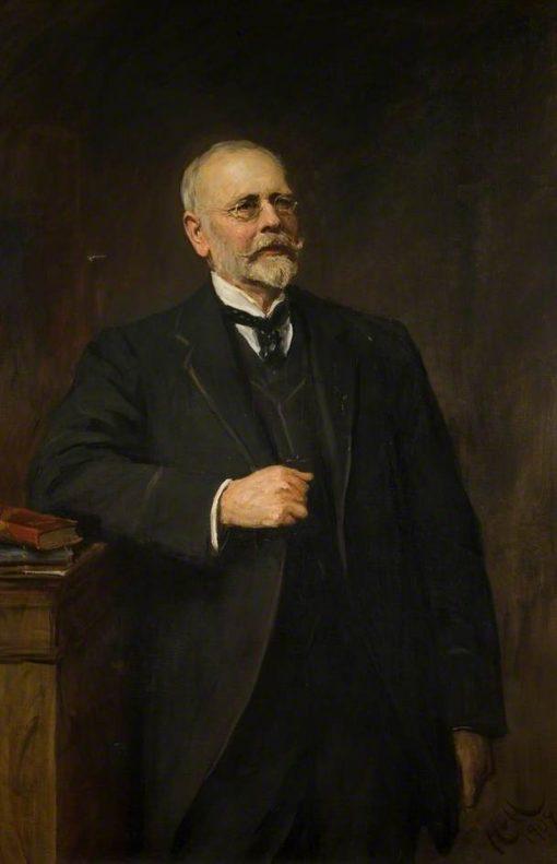 William Henry Allen | Hubert von Herkomer | Oil Painting