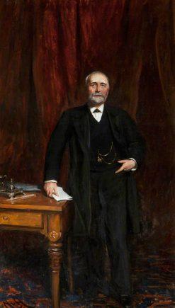 William James Pirrie | Hubert von Herkomer | Oil Painting
