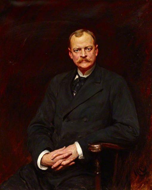 William Waldorf Astor | Hubert von Herkomer | Oil Painting