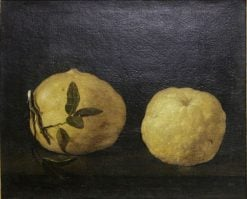Two Lemons | Filippo Napoletano | Oil Painting
