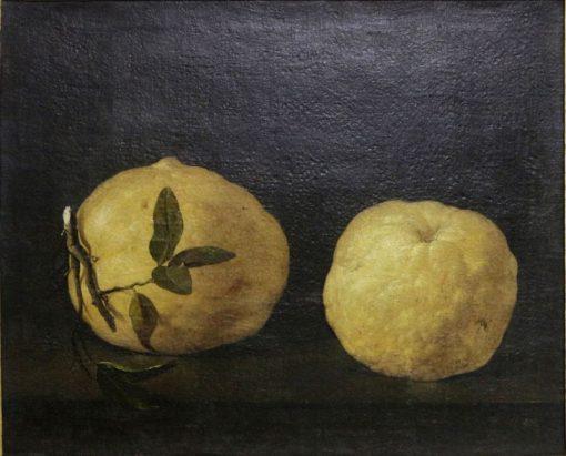 Two Lemons | Filippo Napoletano | Oil Painting