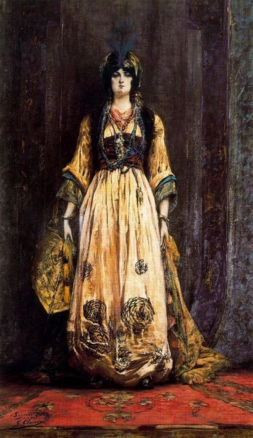 Costume pour une fete orientale | Georges Jules Victor Clairin | Oil Painting