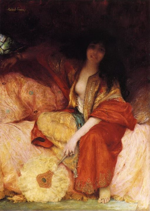 Odalisque | Georges Jules Victor Clairin | Oil Painting