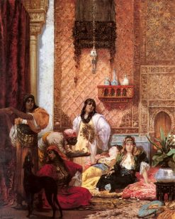 The Sultans Favorites | Georges Jules Victor Clairin | Oil Painting